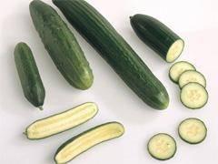 Concombre et cucurbitamine C